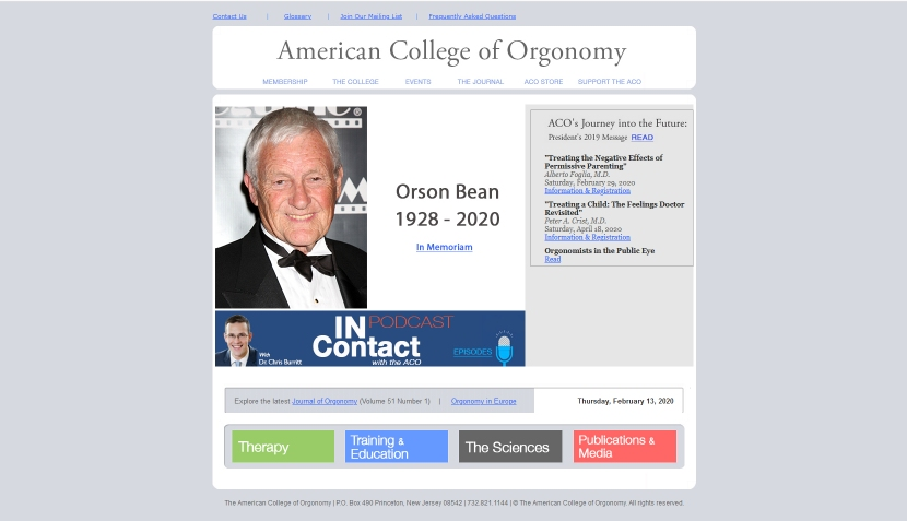 www.orgonomy.org