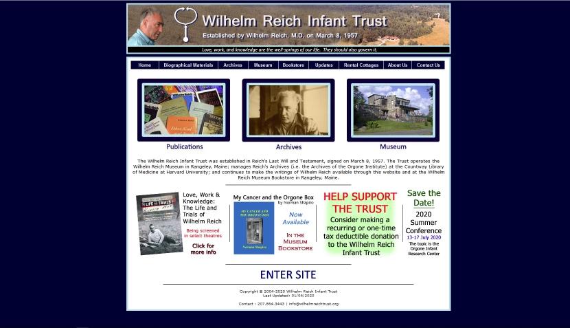 www.wilhelmreichtrust.org