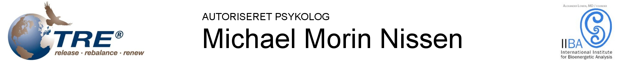 Michael Morin Nissen | TRE | Bioenergetik Logo